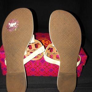 cfde0324bf4f5b ... Tory Burch Shoes - Tory Burch Dulce De Leche Miller 2 Sandals clearance  sale fb88b ece7d ...
